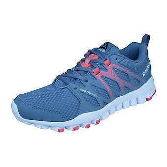 Womens Reebok formatori treno Realflex 4.0 formazione scarpe da Running - Grigio