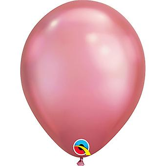 Qualatex 11 Inch Round Plain Latex Balloons (Pack of 25)