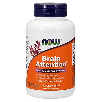 Now Foods Brain Attention 60 Chewables