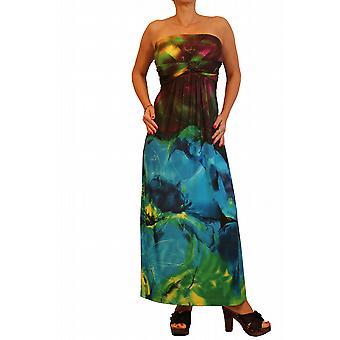 Waooh - mode - lång klänning med blomma