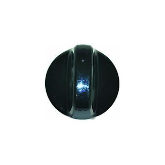 Electrolux zwart fornuis bedieningsknop