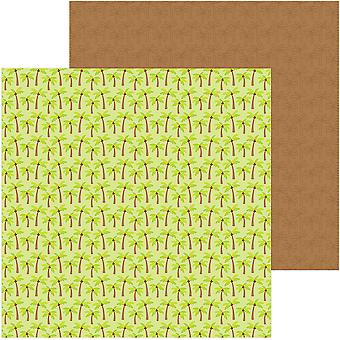 Sweet Summer Double-Sided Cardstock 12
