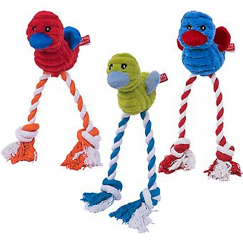 Petface Cord Long Legs Dog Toy-Assorted-Colors Cannot Be Specified