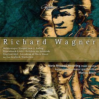 Wesseling, Maria Riccarda/Kammerphi - Richard Wagner: originale værker og tilpasninger for Kammerorkester [SACD] USA import