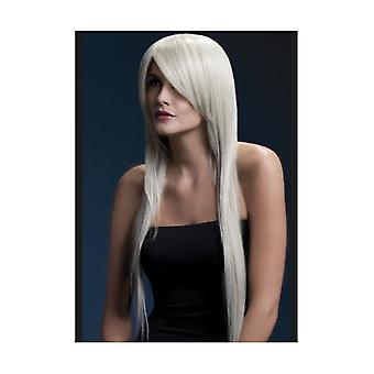 Smiffy's Fever Amber Wig, 28inch/71cm Blonde