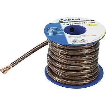 Conrad Components 607147 Earth cable 1 x 6 mm² Black, Transparent 5 m