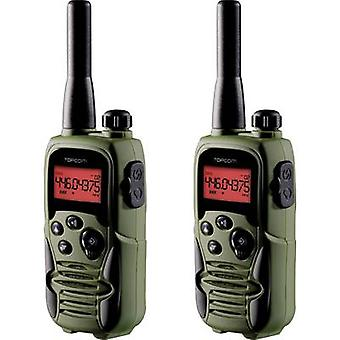 Topcom Twintalker 9500 Airsoft Edition RC-6406 PMR handheld Transceiver 2-teiliges set
