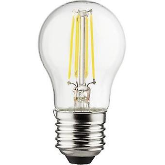 Müller Licht LED EEC A++ (A++ - E) E27 Droplet 4 W = 40 W Warm white (Ø x L) 45 mm x 77 mm Filament 1 pc(s)