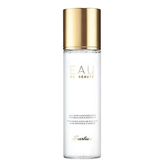Guerlain Eau De Beaute Refreshing Micellar Solution Pure Radiance Cleanser 6.7oz / 200ml