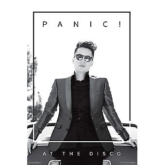 Panic! At the disco poster Brendon leaning