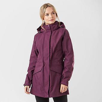 New Brasher Women's Grisedale Essential Jacket Plum