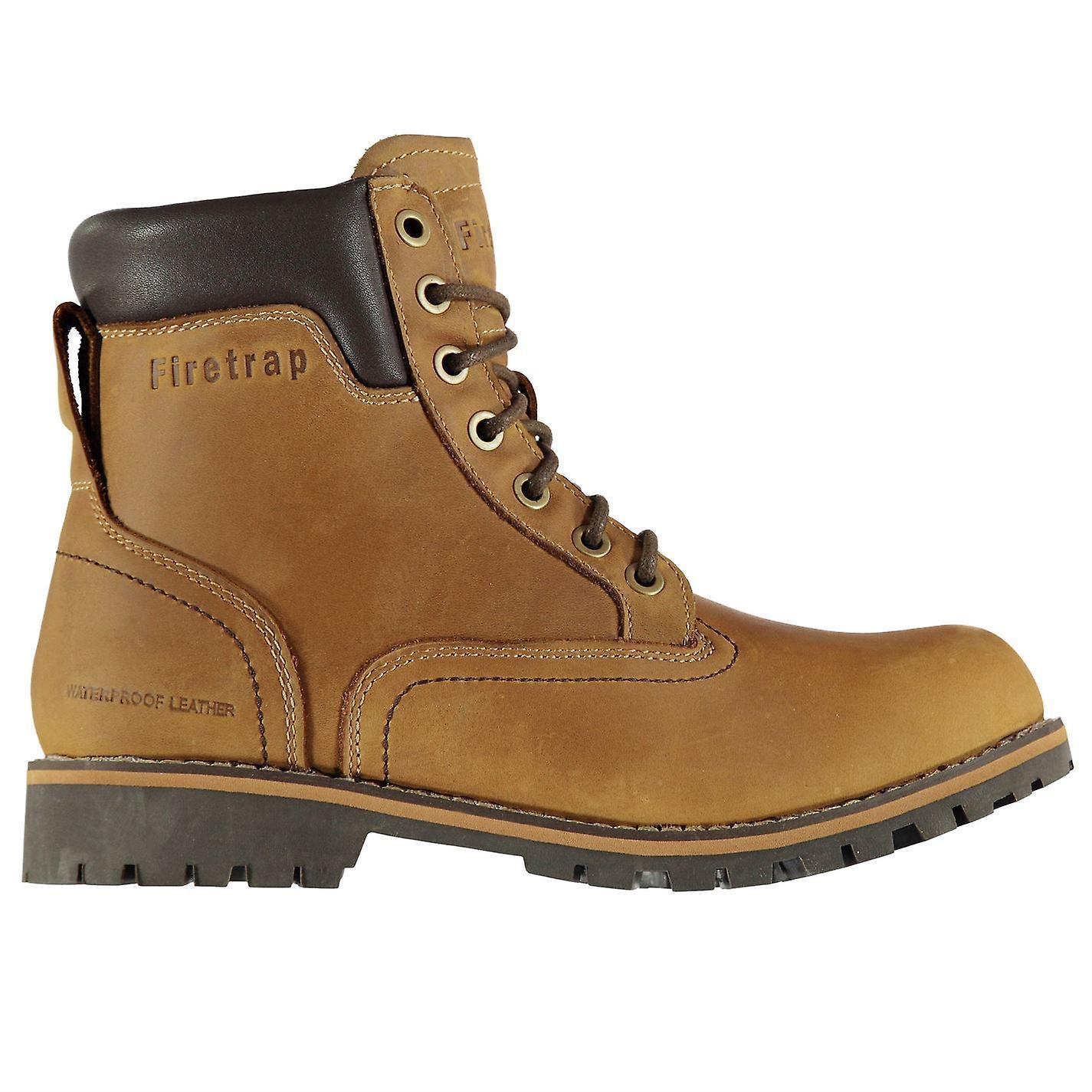 Firetrap Mens Total Bt bottes lacets de chaussures de sport chaussures neuf