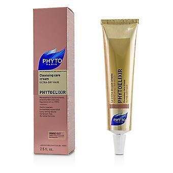 Phyto Phytoelixir Cleansing Care Cream (Ultra-Dry Hair) - 75ml/2.5oz