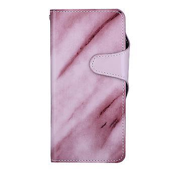 Purple Wallet case marble - Samsung Galaxy S8+!
