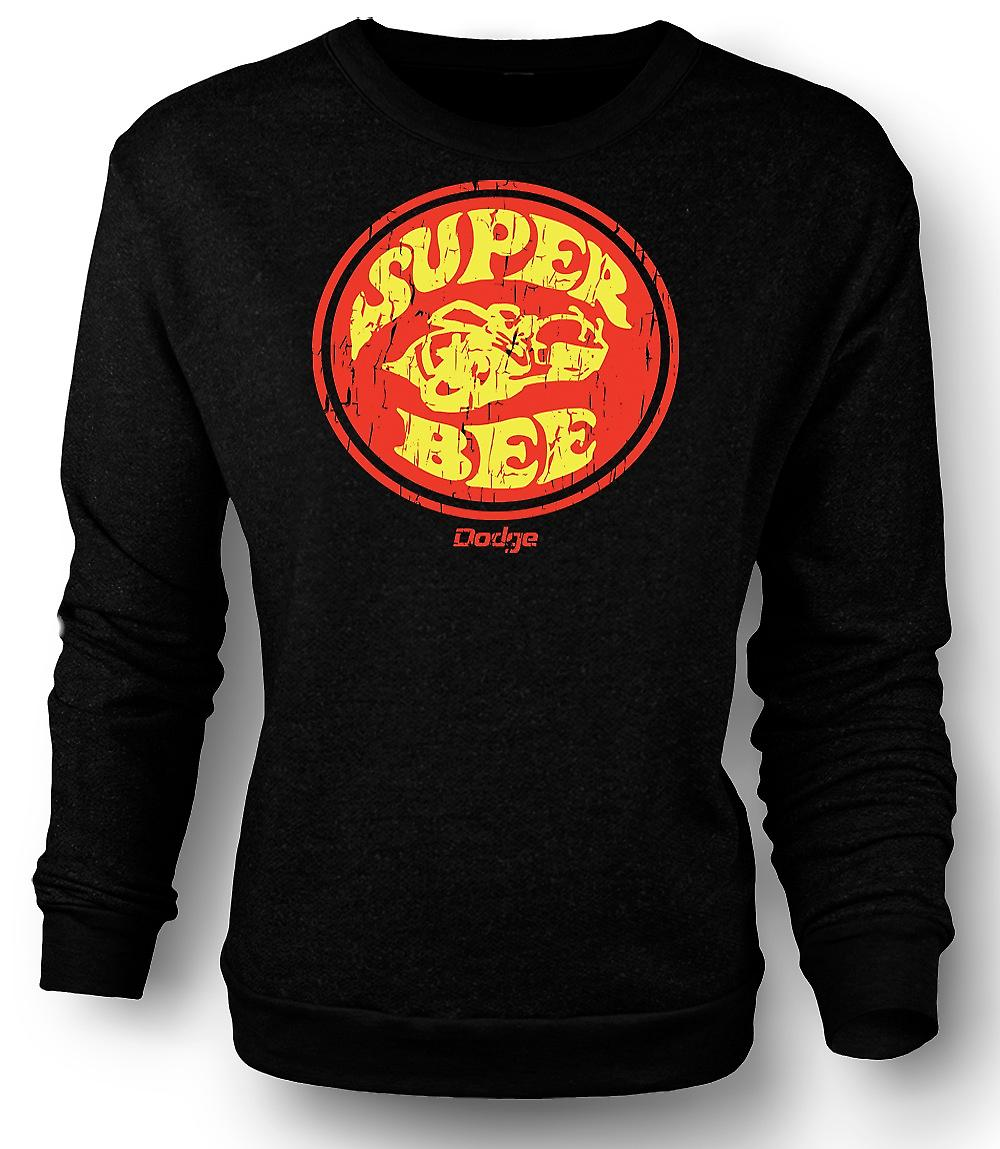 Mens Sweatshirt Dodge Super Bee Muscle Car