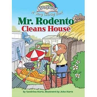 Storyland: Mr Rodento reinigt Haus: eine Geschichte Malbuch
