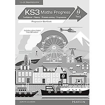 KS3 Maths Progress Progression: Workbook Theta 2 (KS3 Maths series)