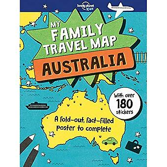 My Family Travel Map - Australia (Lonely Planet Kids)
