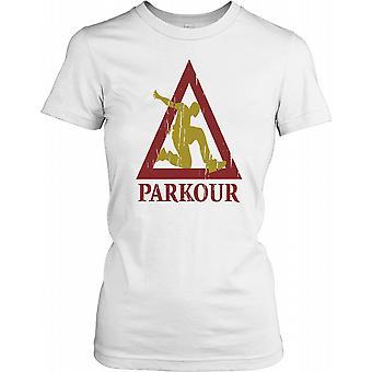 Parkour, Free Running damer T Shirt