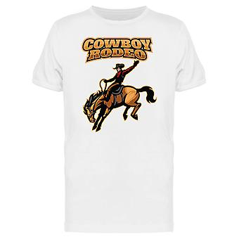 Rodeio cavalo Cowboy Tee gráfico MASC-imagem por Shutterstock