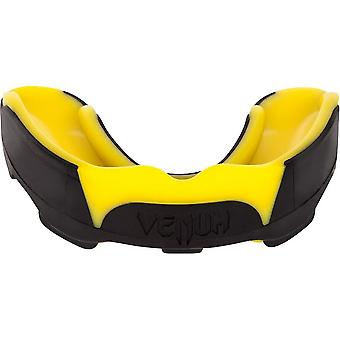 Venum Predator MMA Boxing Sports Adult Mouthguard with Case - Black/Yellow