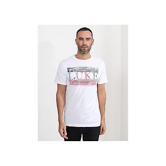 Luke 1977 Luke Flag afgedrukt T-shirt