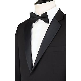 Dobell Mens Black Tuxedo Dinner Jacket Skinny Fit Notch Lapel