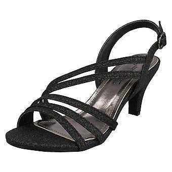 Ladies Anne Michelle Glitter Sandal