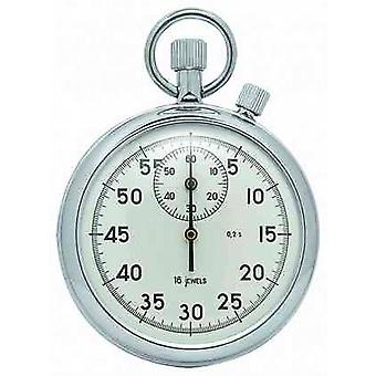 Woodford Chrome White Dial Mechanical Stopwatch 1041 Watch
