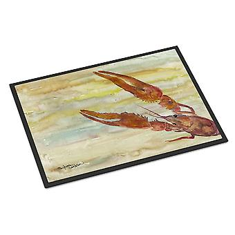 Carolines Treasures  SC2021JMAT Crawfish Yellow Sky Indoor or Outdoor Mat 24x36