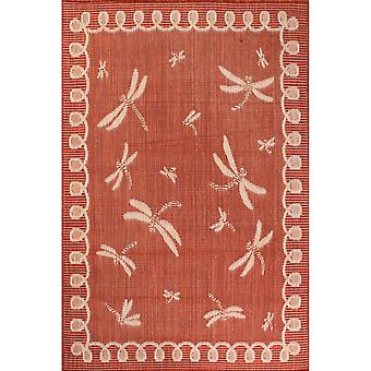 Outdoor Dragonfly Rugs In Natural By Rugstyle