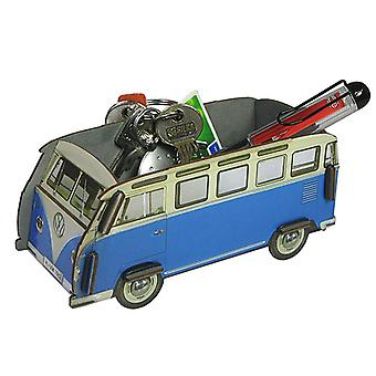 Official VW Camper Van Small Desk Tidy Organiser - Blue