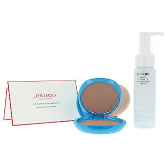 Shiseido Sun Protection compact Spf30 set 3 PZ voor vrouwen
