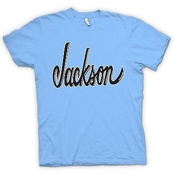 Mens T-shirt - Jackson - Guitar - Jazz Blues