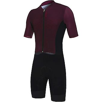 Santini Bordeaux 2019 Redux TT Road Short Sleeved Cycling Suit