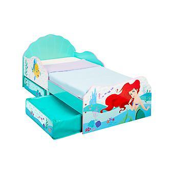 Lit pour tout-petits Disney Princess Ariel avec rangement