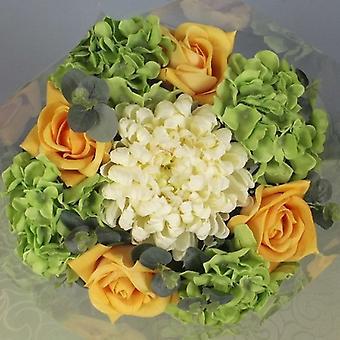 Artificial Silk Large Open Top Hydrangea Bouquet