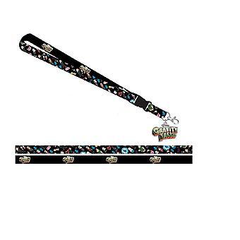 Lanyard - Gravity Falls - w/ID Halter Neue la77dxgfs