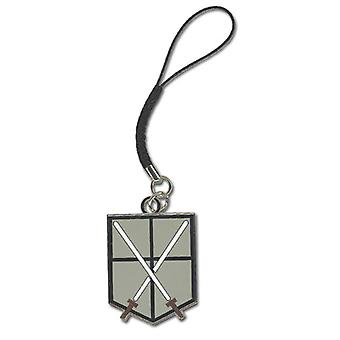 Cell Phone Charm - Attack on Titan - New 104th Cadet Corps Licensed ge17200