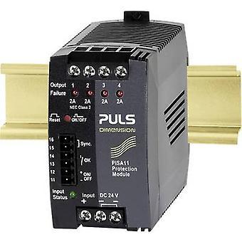 PULS DIMENSION PISA11.402 Overvoltage/overcurrent protector 24 Vdc 2 A 4 x