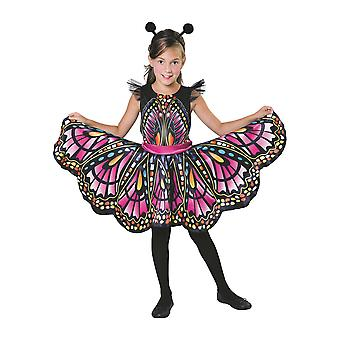 Bristol Novelty Childrens/Kids Detailed Butterfly Costume With Headpiece