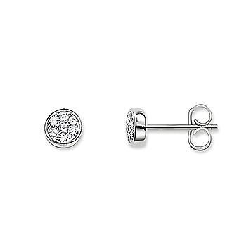 Thomas Sabo Glam & Soul-Woman-glittrande cirklar örhängen-Sterling Silver 925