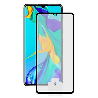 Film Protector in Tempered Glass for Huawei P30 Lite Black Mobile Phone