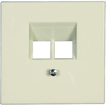Jung Cover UAE socket LS 990, LS design, LS plus Cream-white LS969-2UA