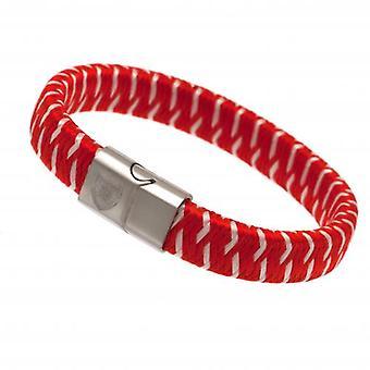Arsenal Woven Bracelet
