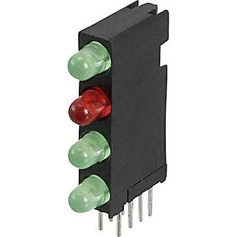LED component Green, Red Dialight