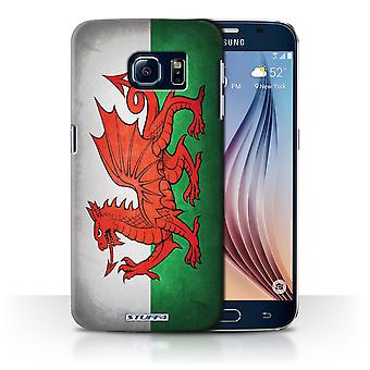STUFF4 Tel. Case / Cover für Samsung Galaxy S6/G920 / Wales/Welsh Design / Flaggen Sammlung