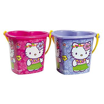 Androni Hello Kitty Bucket Heart 19Cm (Outdoor , Garden Toys , Sand Toys)