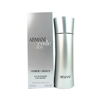 Armani Code ijs mannen door Armani 2.5 oz EDT Spray