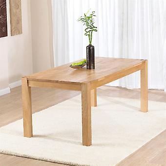 Mark Harris Verona 150cm Solid Oak Dining Table